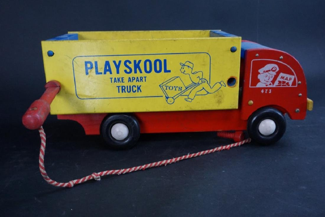 1950'S PLAYSKOOL TAKE APART TRUCK - 5