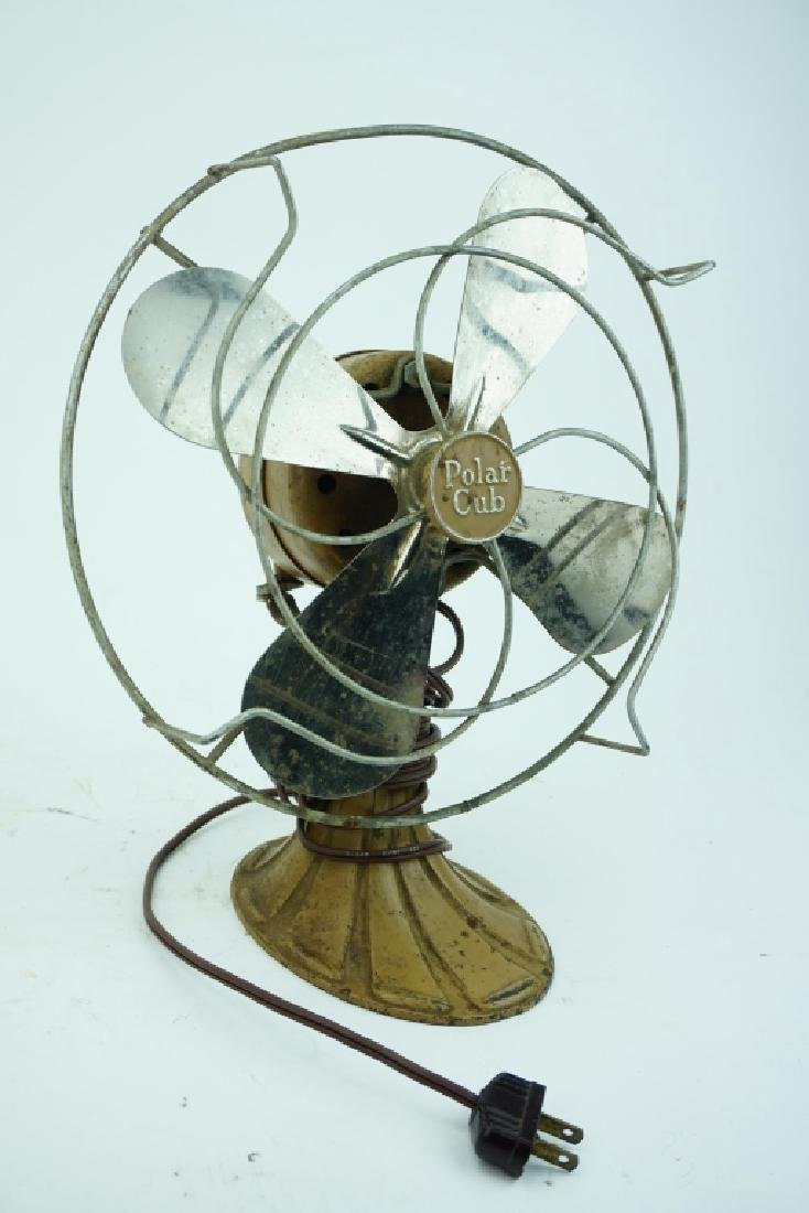 VINTAGE AC GILBERT POLAR CUB INDUSTRIAL FAN P1851