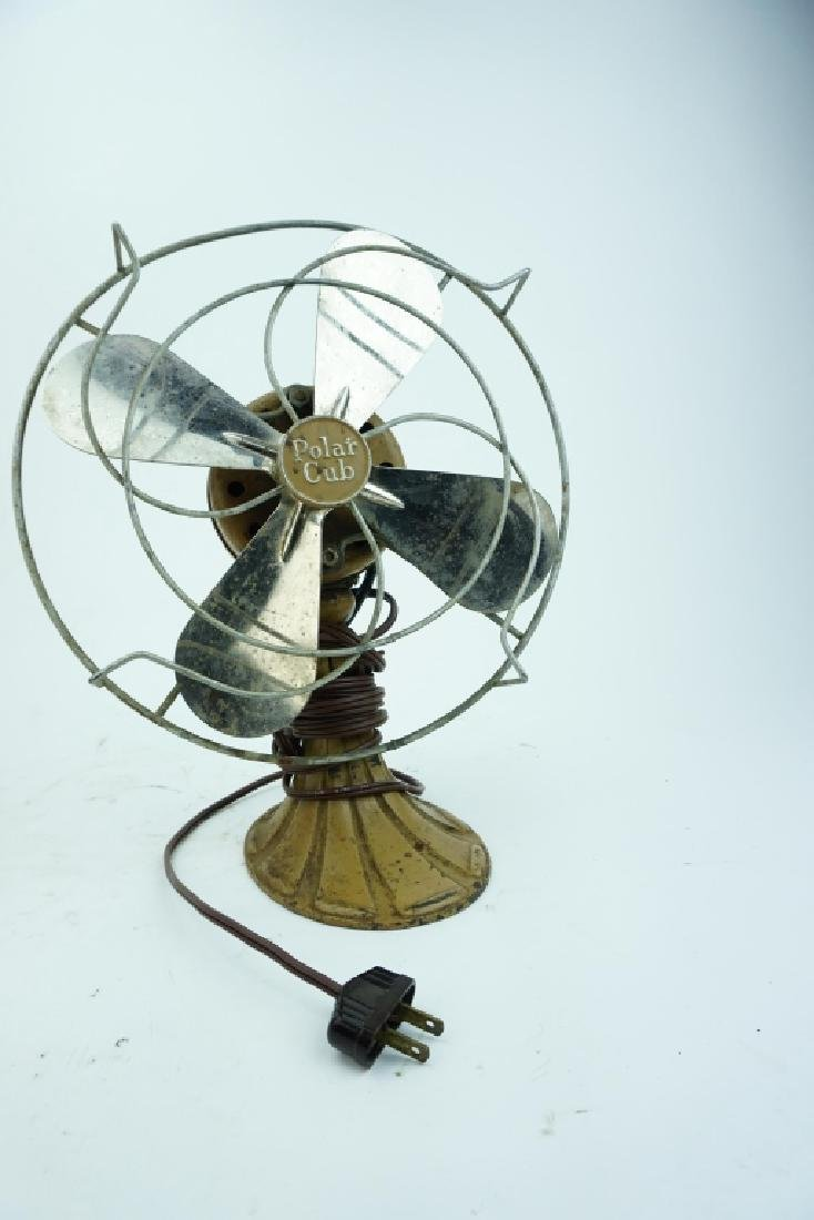 VINTAGE AC GILBERT POLAR CUB INDUSTRIAL FAN P1851 - 2