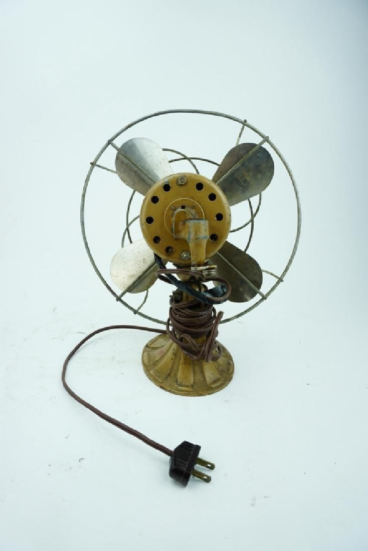 VINTAGE AC GILBERT POLAR CUB INDUSTRIAL FAN P1851 - 3