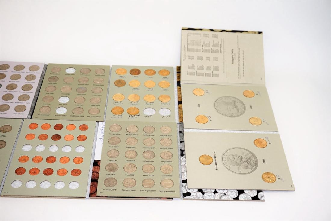 (9) ASSORTED US COIN PORTFOLIOS - 4