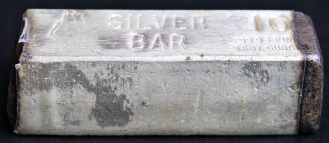 USS CONSTITUTION 99.9 PURE SILVER BAR