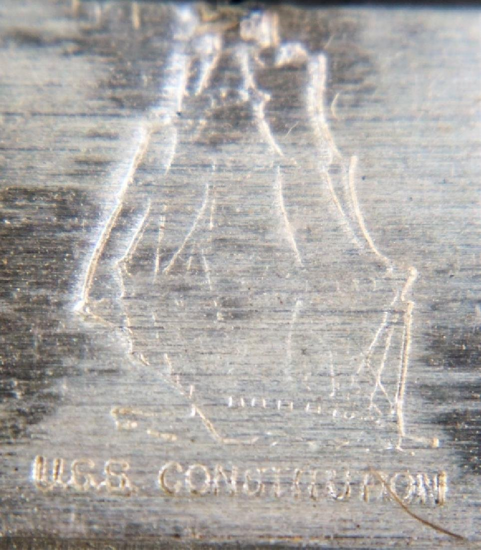 USS CONSTITUTION 99.9 PURE SILVER BAR - 2