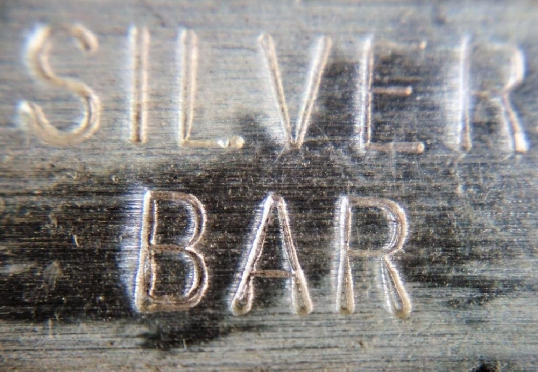 USS CONSTITUTION 99.9 PURE SILVER BAR - 3