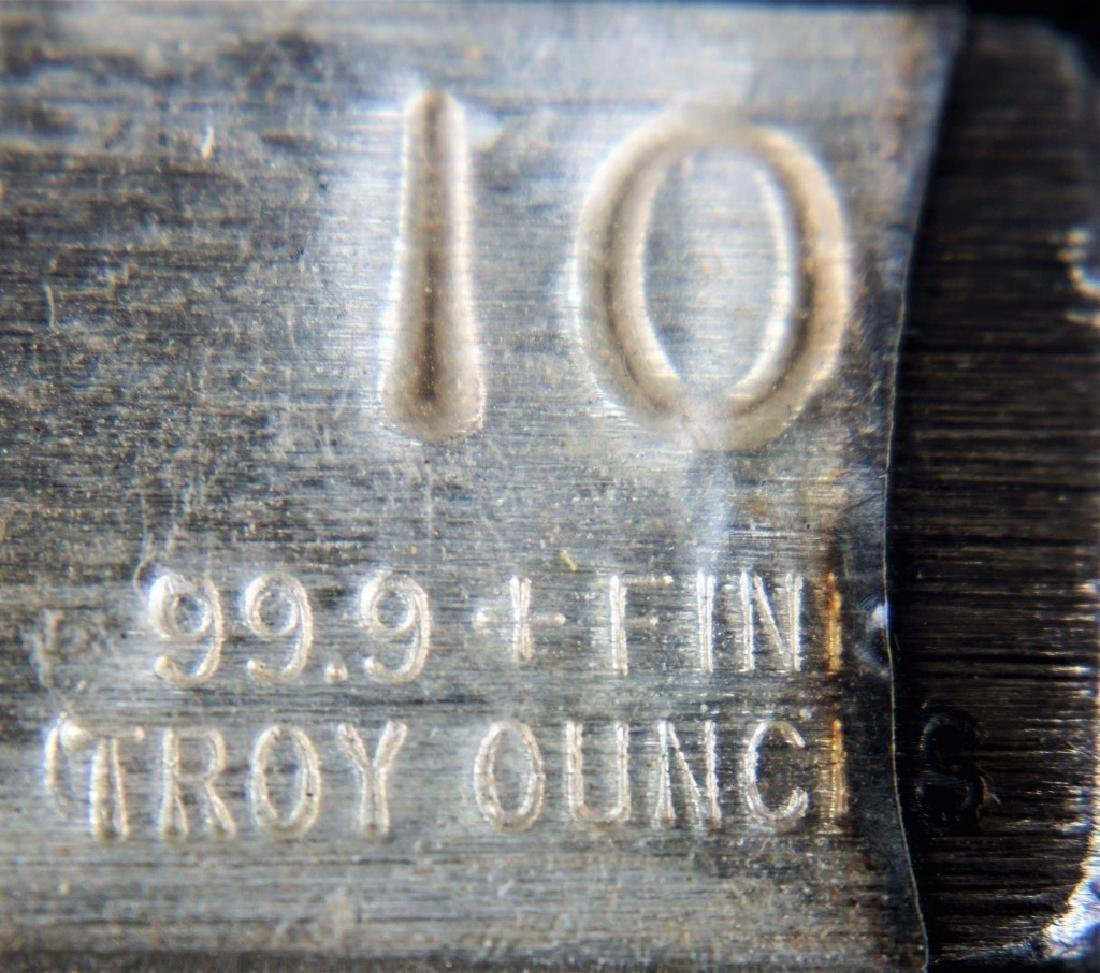 USS CONSTITUTION 99.9 PURE SILVER BAR - 4