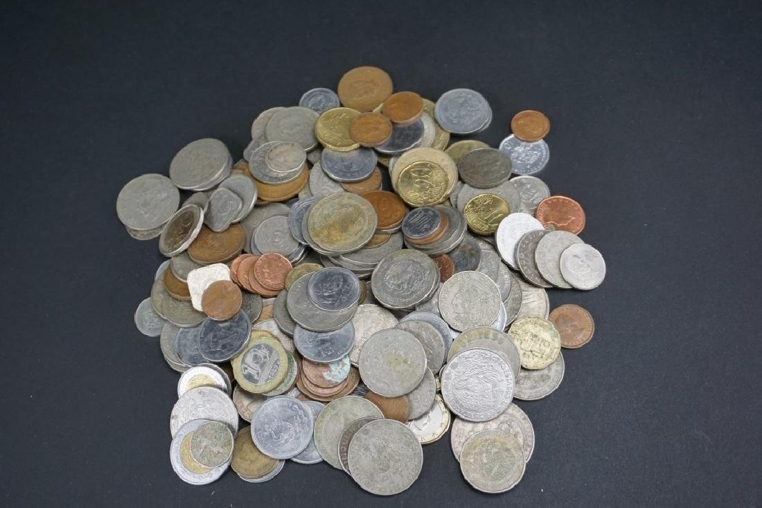 ASSORTED FOREIGN CURRENY AND COINS - 3