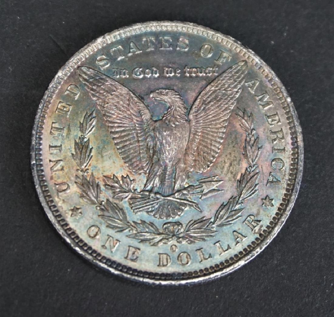 1884 MORGAN SILVER DOLLAR - 2