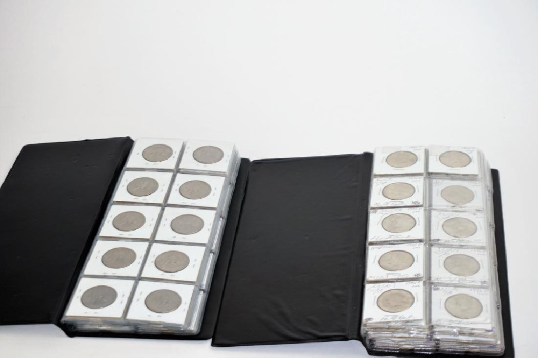 (2) COIN ALBUMS WITH ASSORTED US COINS
