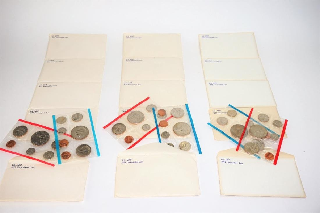 (15) U.S. MINT UNCIRCULATED 13-COIN SETS - 5