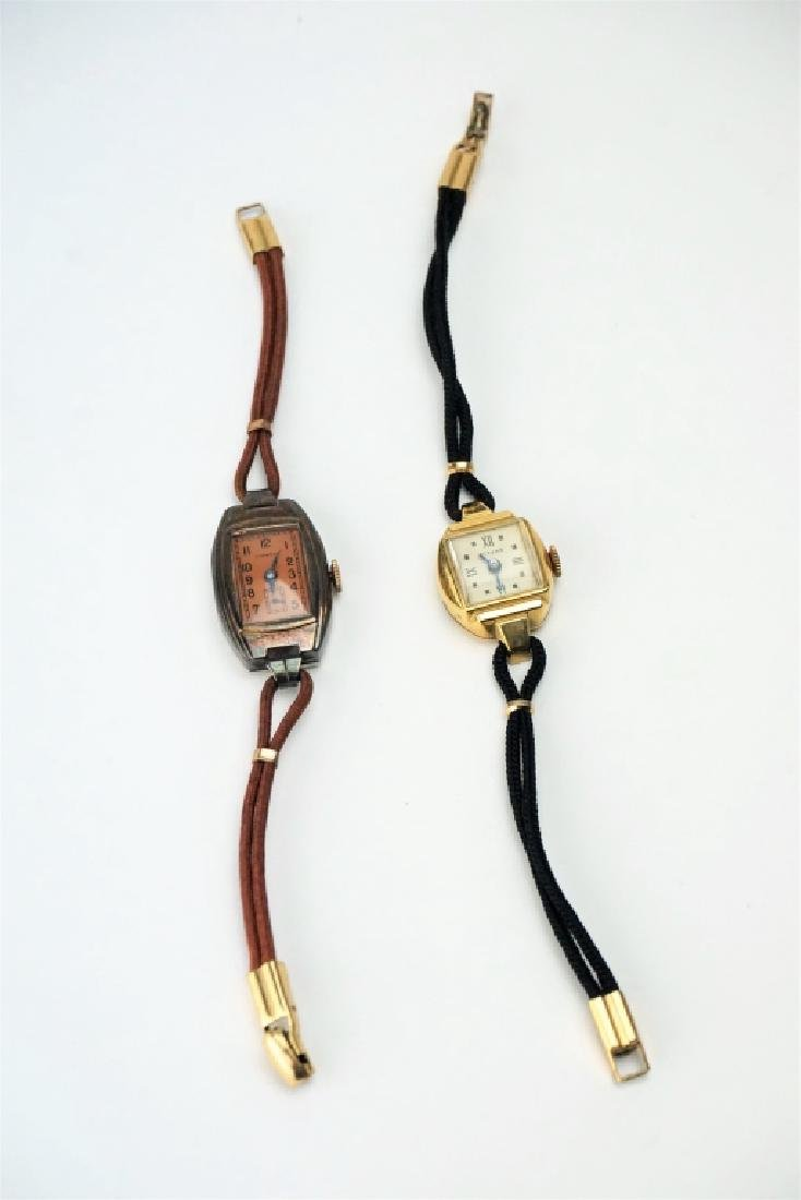 (2) LADIES WRIST WATCHES