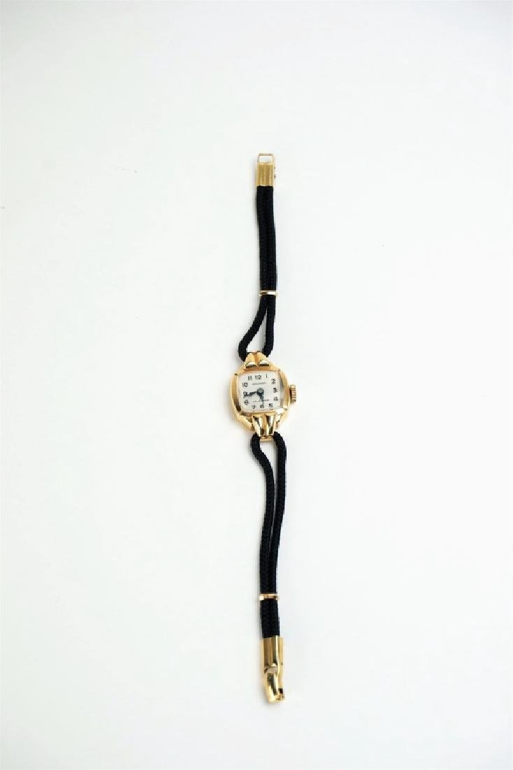 14K GOLD SWISS LADIES WRIST WATCH