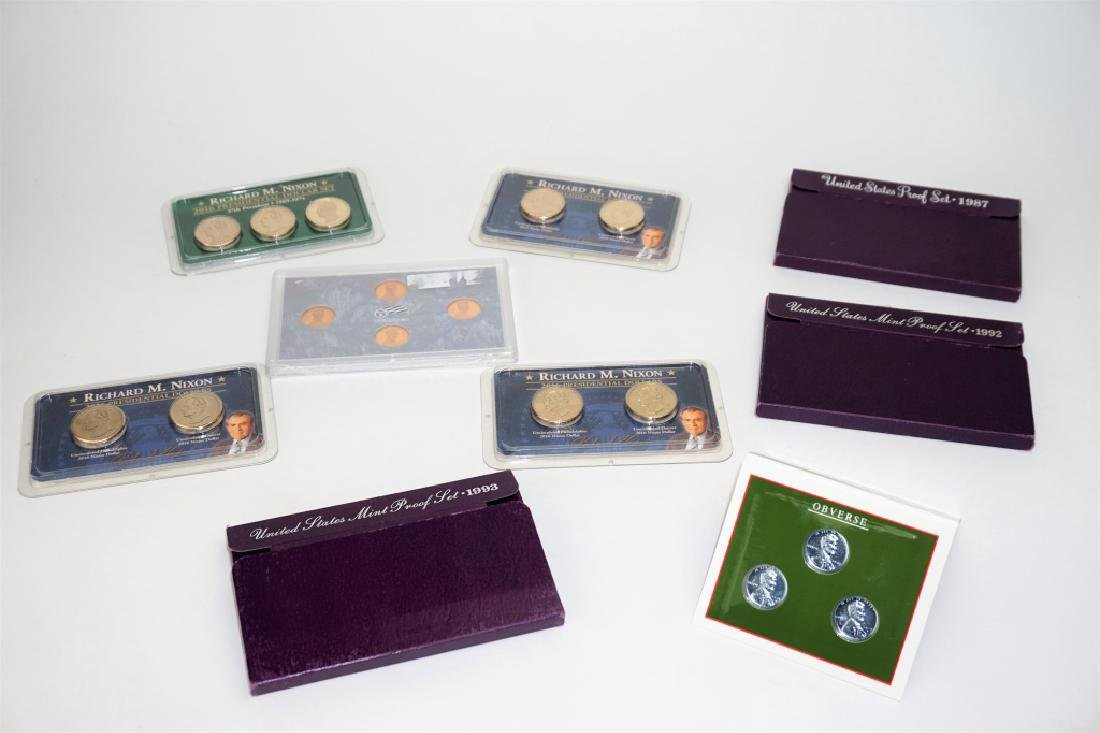 (9) ASSORTED US COIN COMMEMORATIVE SETS