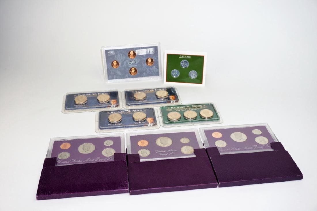 (9) ASSORTED US COIN COMMEMORATIVE SETS - 2
