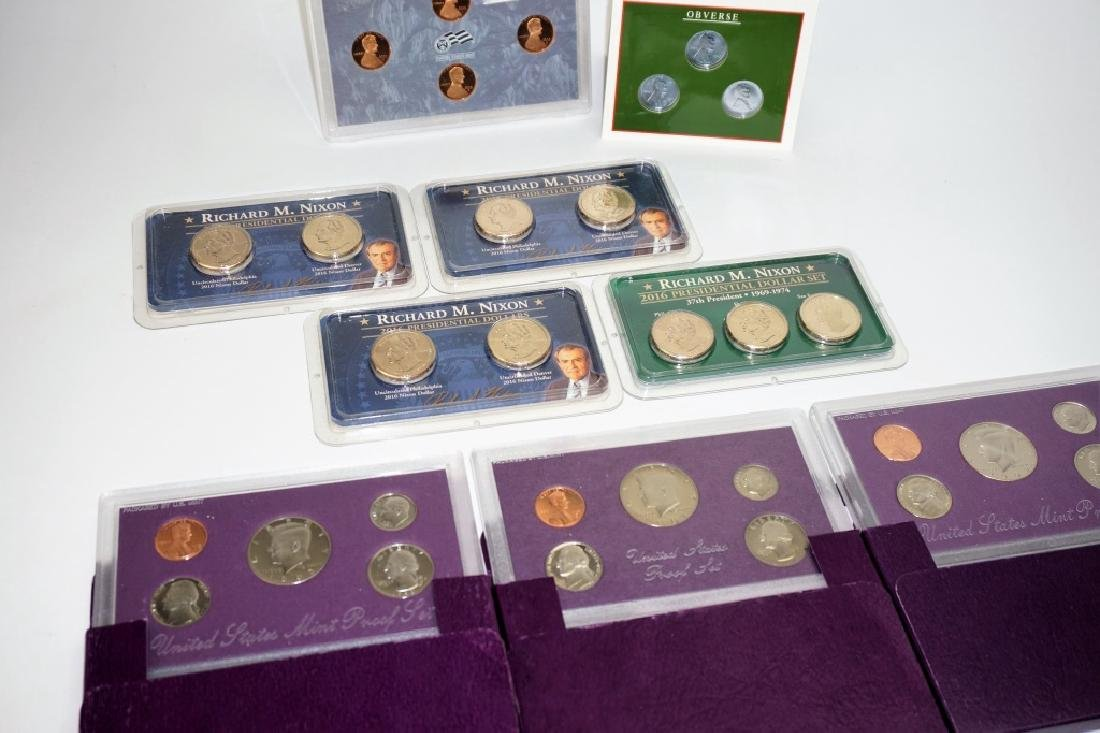 (9) ASSORTED US COIN COMMEMORATIVE SETS - 3