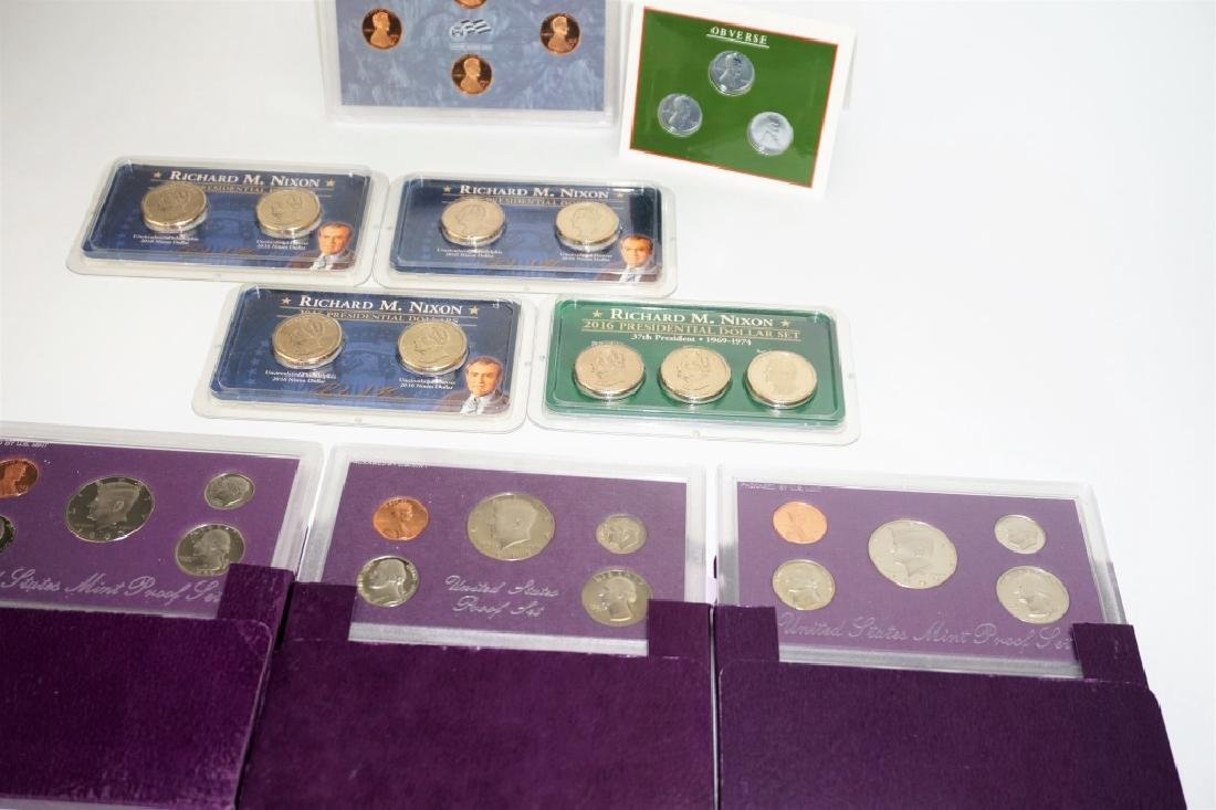 (9) ASSORTED US COIN COMMEMORATIVE SETS - 4