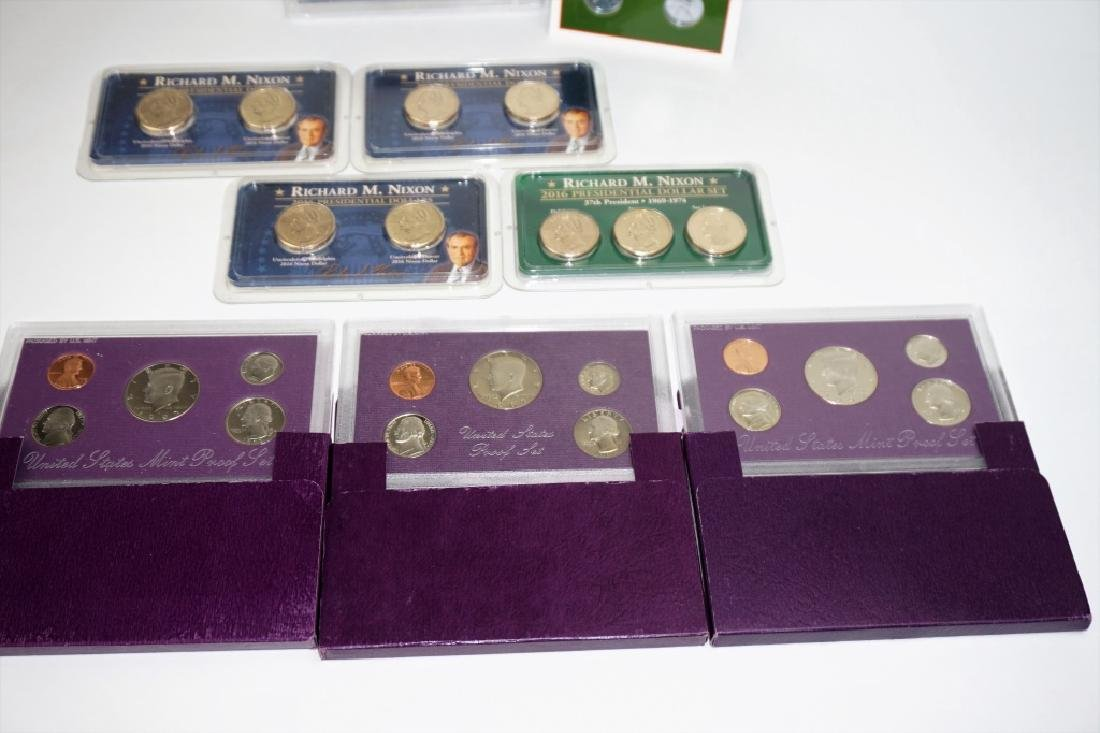 (9) ASSORTED US COIN COMMEMORATIVE SETS - 5