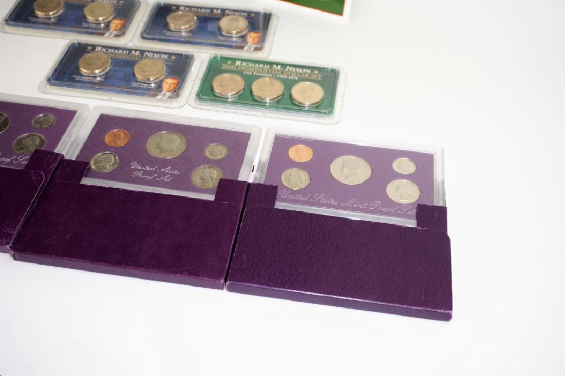 (9) ASSORTED US COIN COMMEMORATIVE SETS - 6