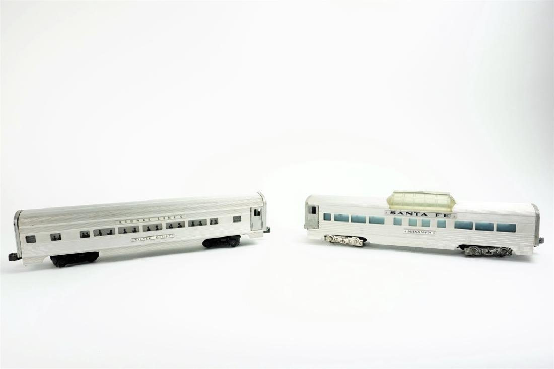 (2) LIONEL LINES SILVER BLUFF PASSENGER CARS