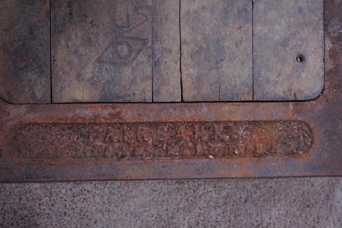 FAIRBANKS PLATFORM GRAIN SCALE - 7