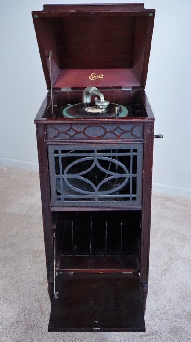 EDISON C150 DISC PHONOGRAPH - 4