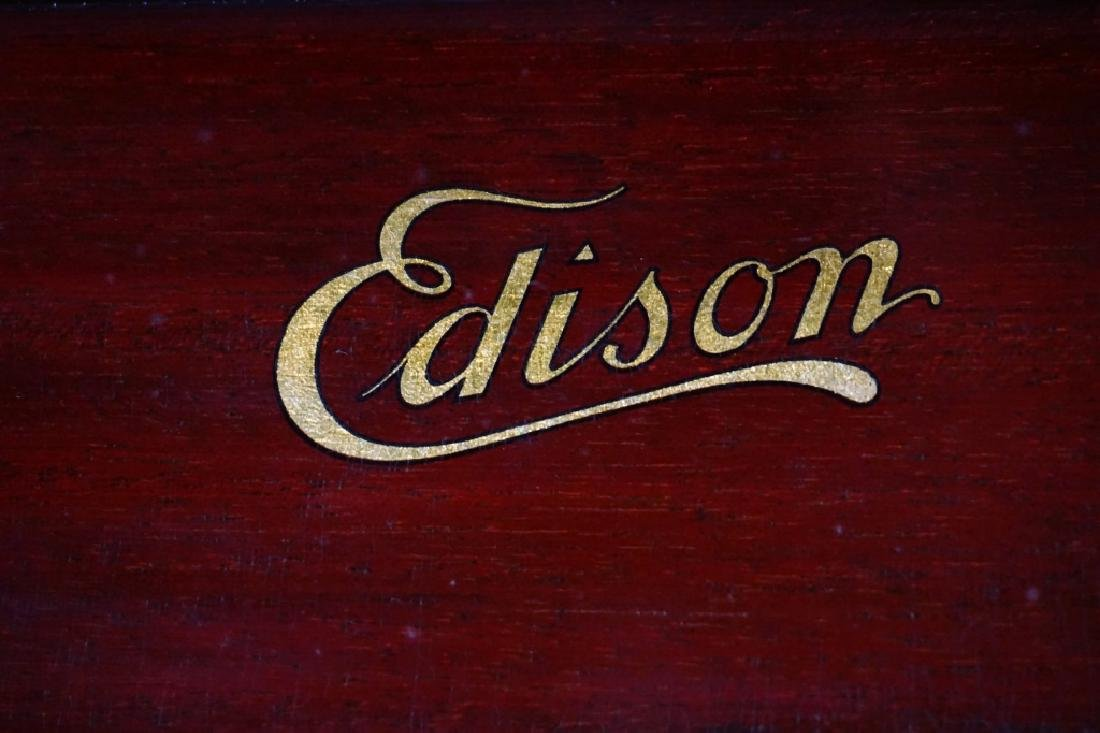 EDISON C150 DISC PHONOGRAPH - 7