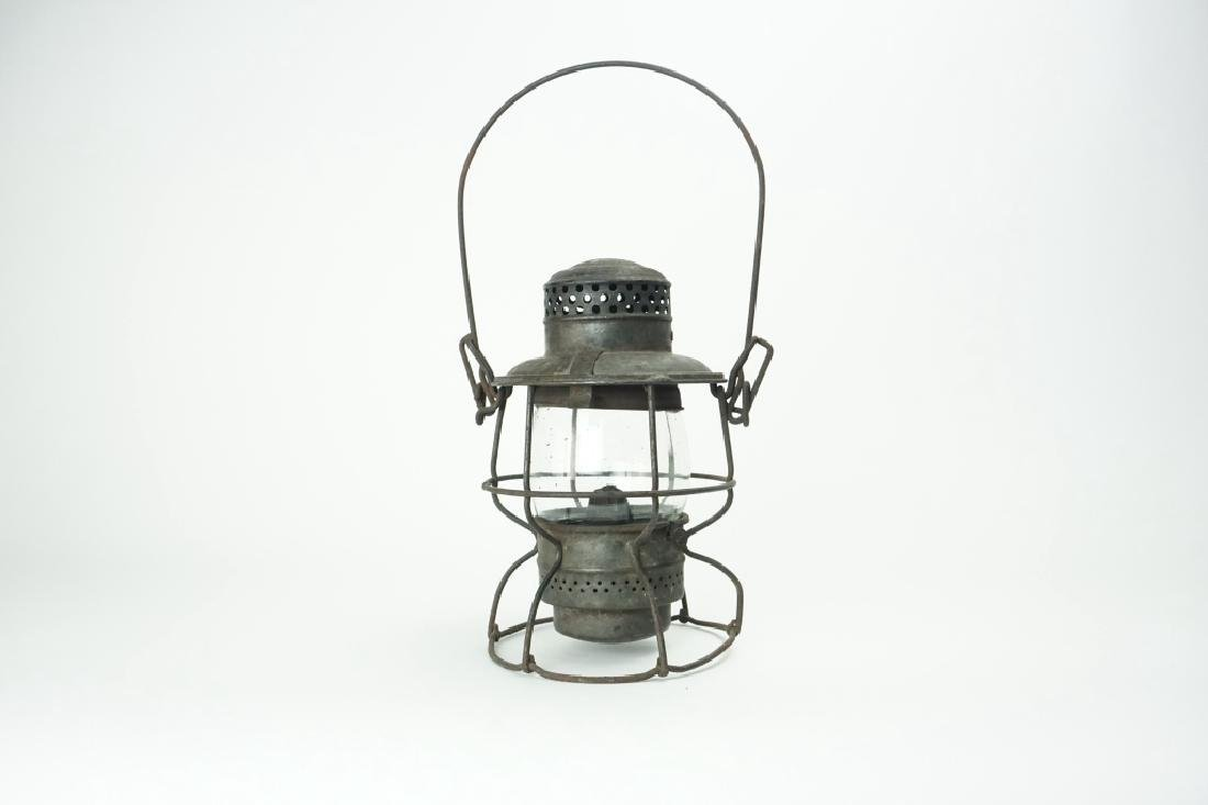 ANTIQUE PRR ARMSPEAR MFG CO NEW YORK LANTERN