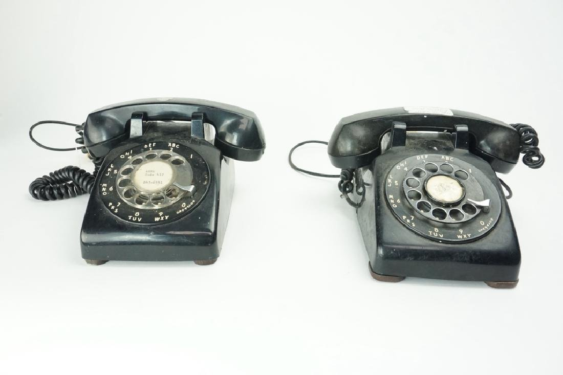 (2) ASSORTED ROTARY TELEPHONES - 3