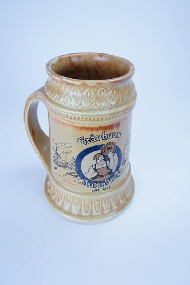 MCCOY POTTERY BEER STEIN - 2