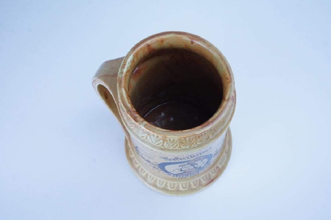 MCCOY POTTERY BEER STEIN - 3