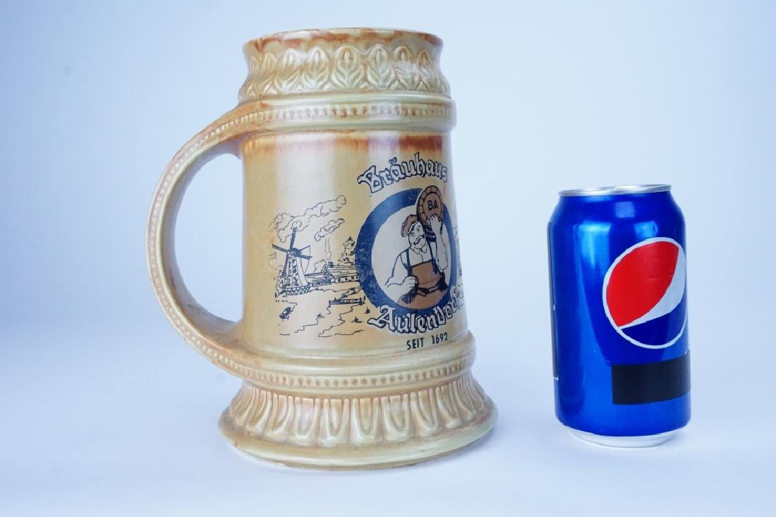 MCCOY POTTERY BEER STEIN - 6