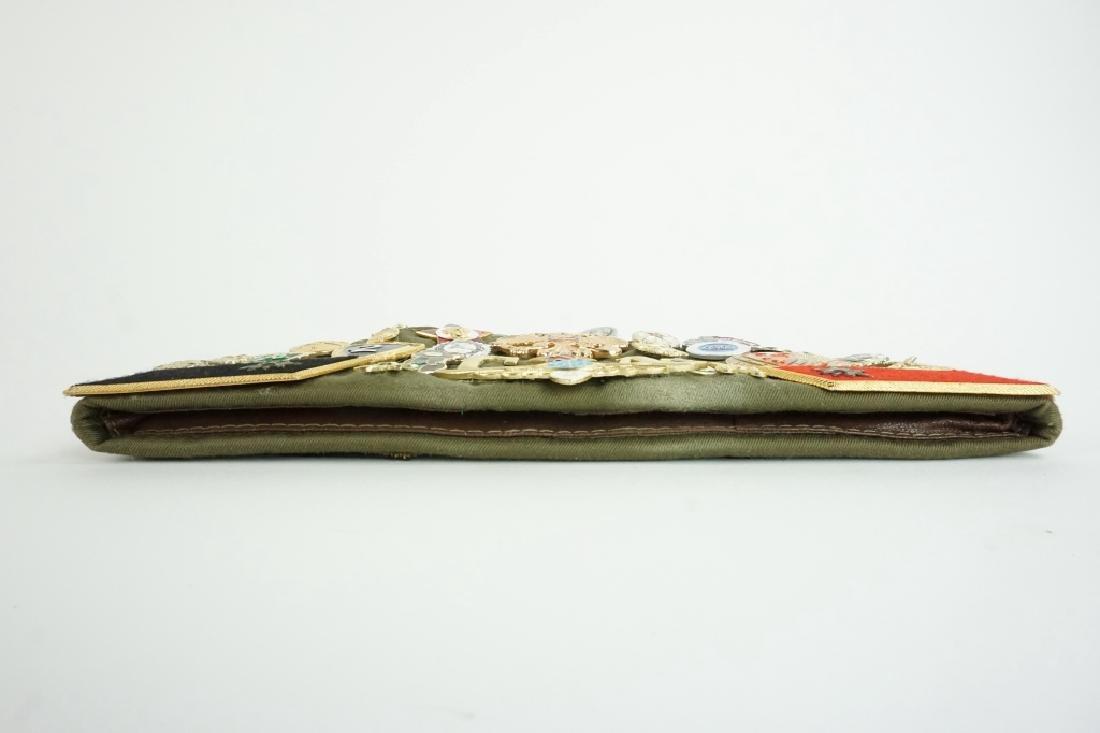SOVIET GARRISON CAP WITH PINS & PATCHES - 4