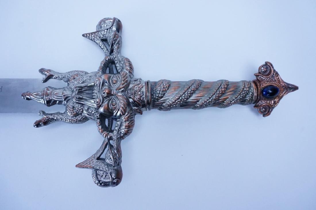 MEDIEVAL DECORATIVE CRUCIFORM SWORD - 3