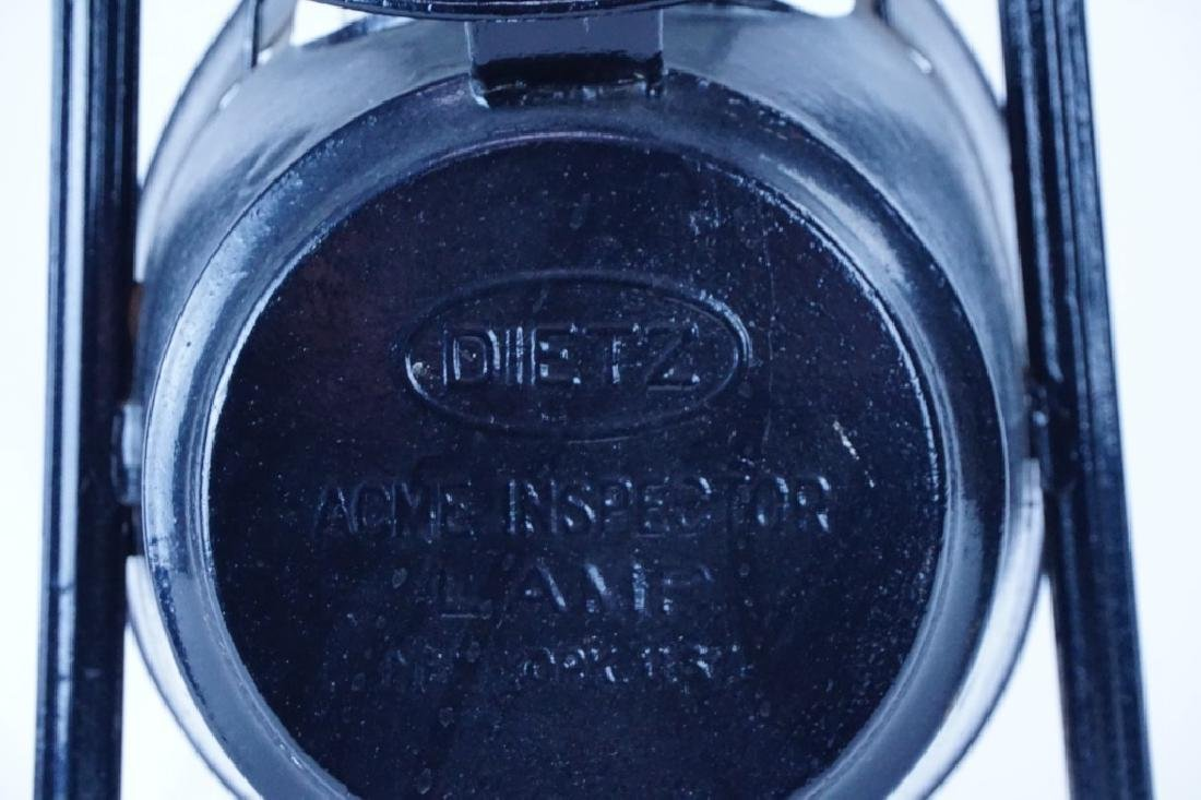 DIETZ PENNSYLVANIA RAILROAD ACME INSPECTOR LAMP - 3