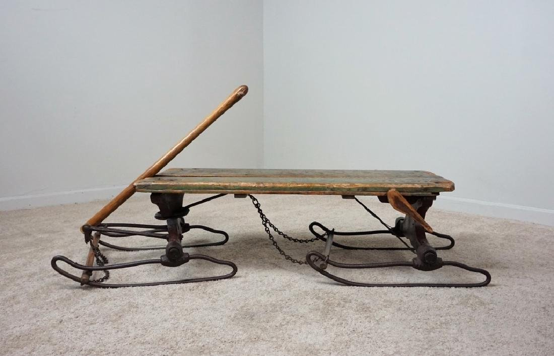 EARLY PRIMITIVE ANTIQUE SLED
