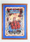 GRATEFUL DEAD 1995 SUMMER TOUR POSTER