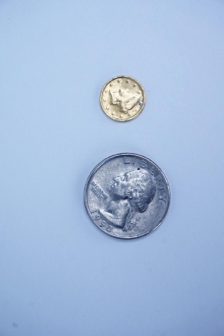 U.S. ONE DOLLAR GOLD COIN - 4