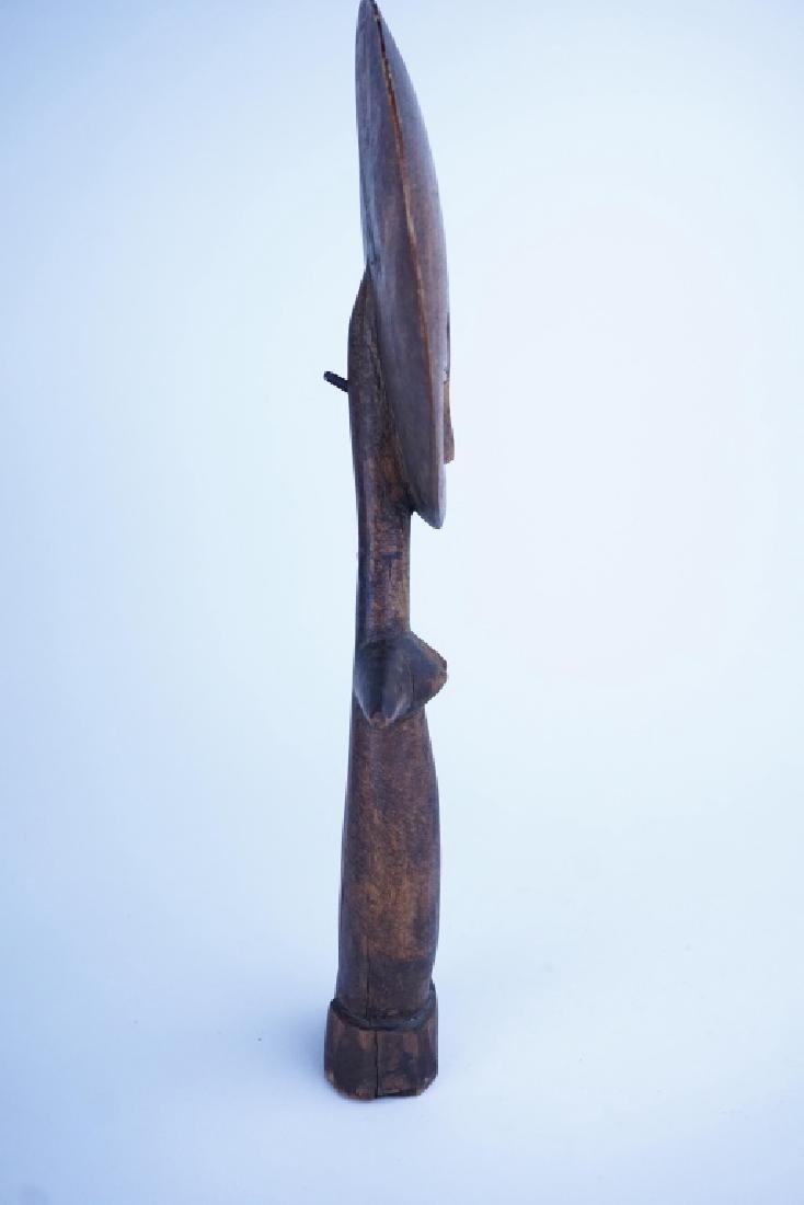 AFRICAN ASHANTI AKUBA FERTILITY GODDESS STATUE - 2