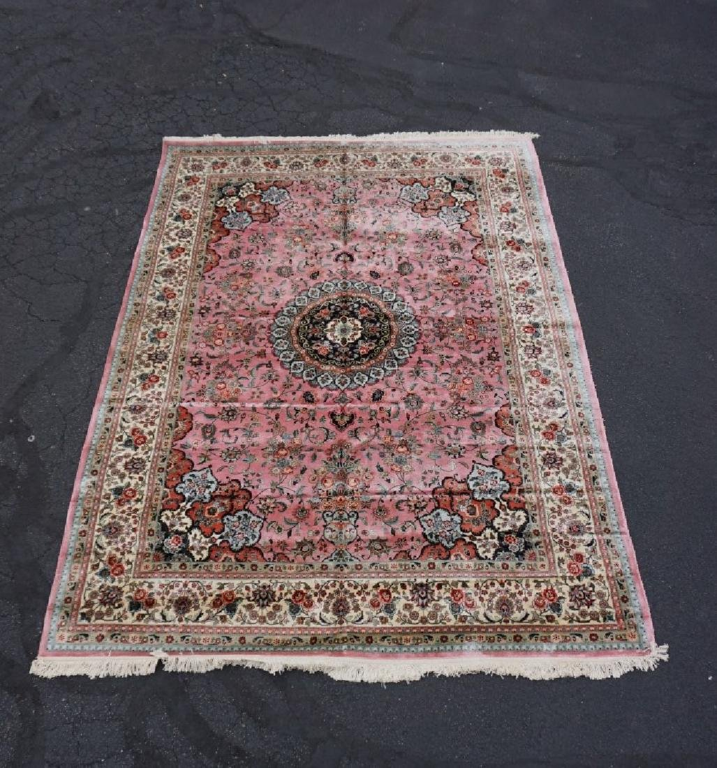 ROOM SIZE CHINESE SILK RUG - 2
