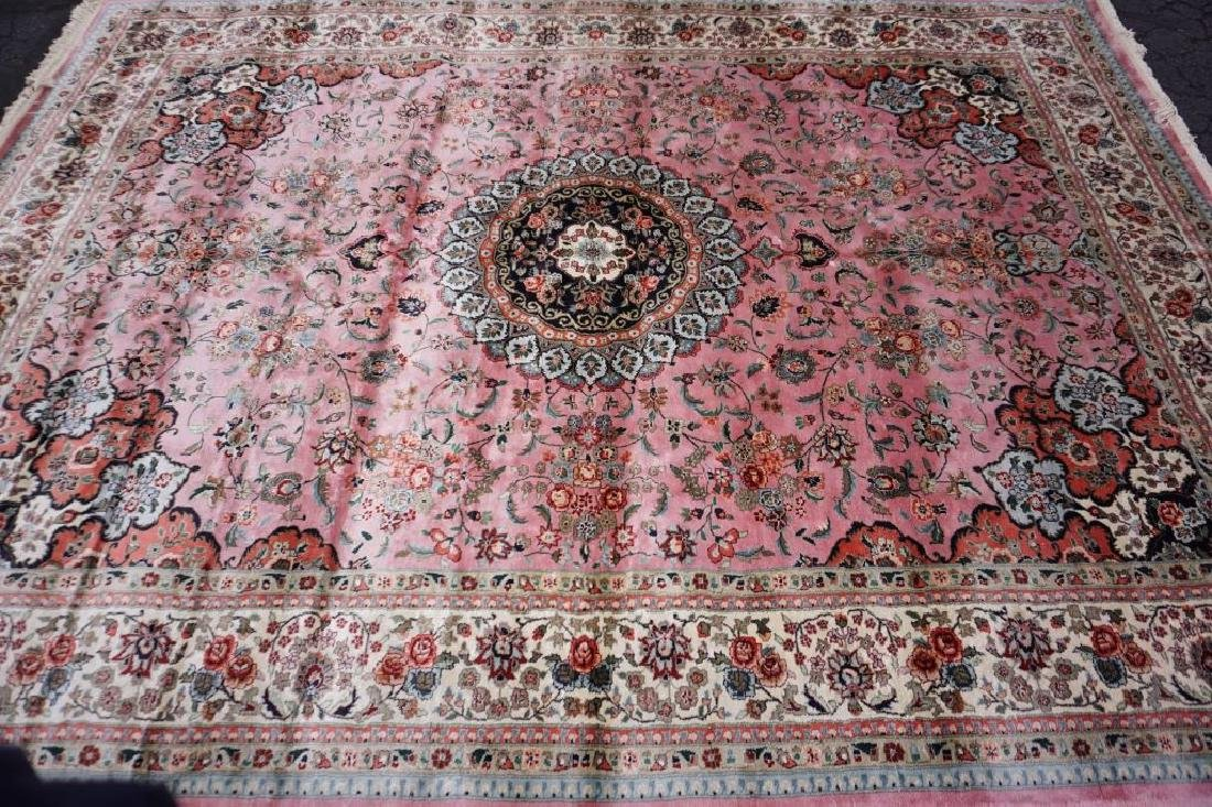 ROOM SIZE CHINESE SILK RUG - 4