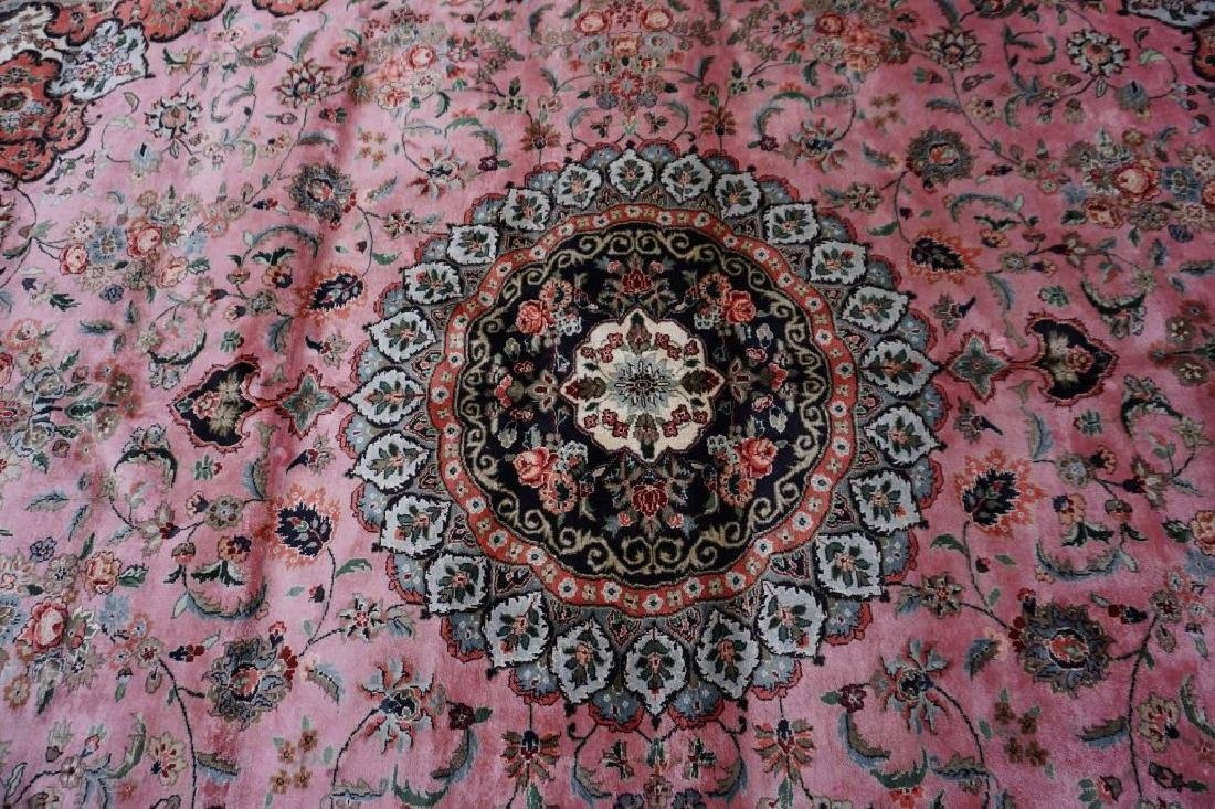 ROOM SIZE CHINESE SILK RUG - 7