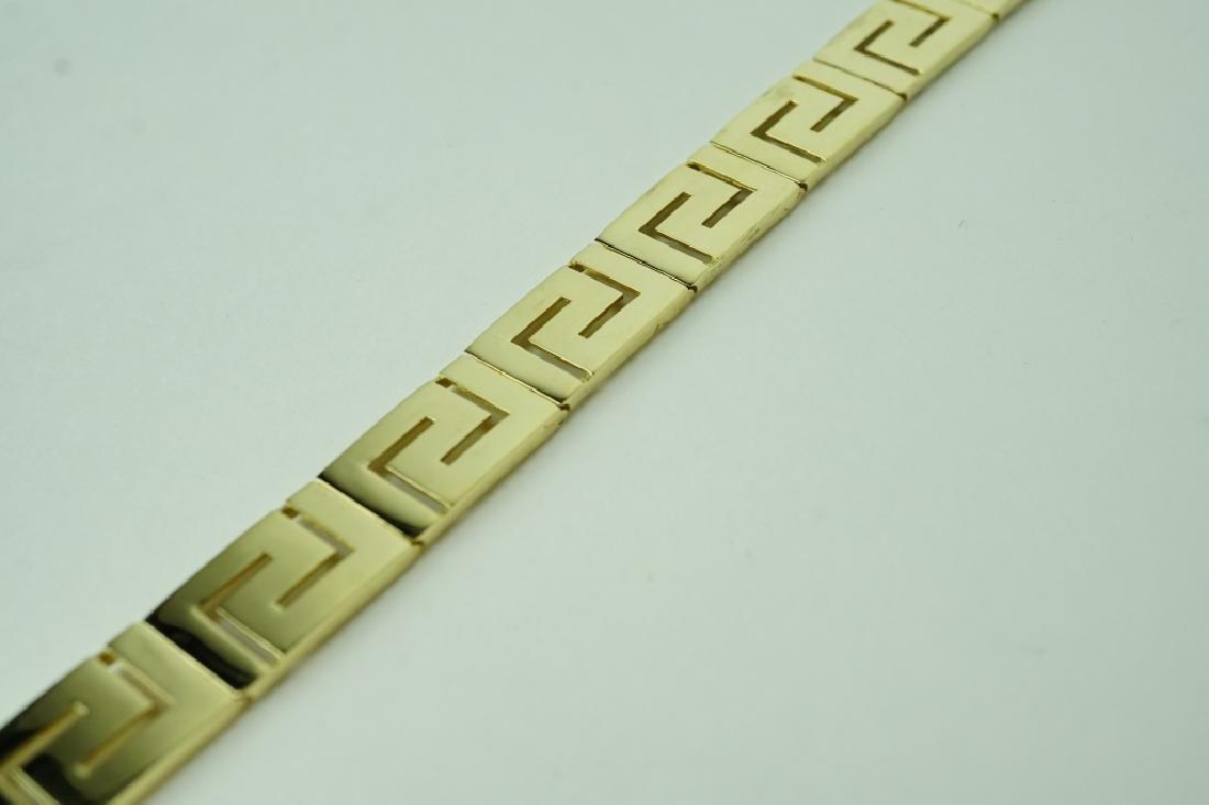 14K YELLOW GOLD BRACELET - 3