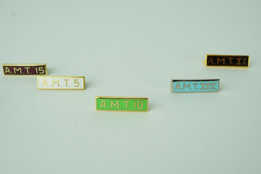 (8) ASSORTED REGISTERED MEDICAL TECHNOLOGIST PINS - 4