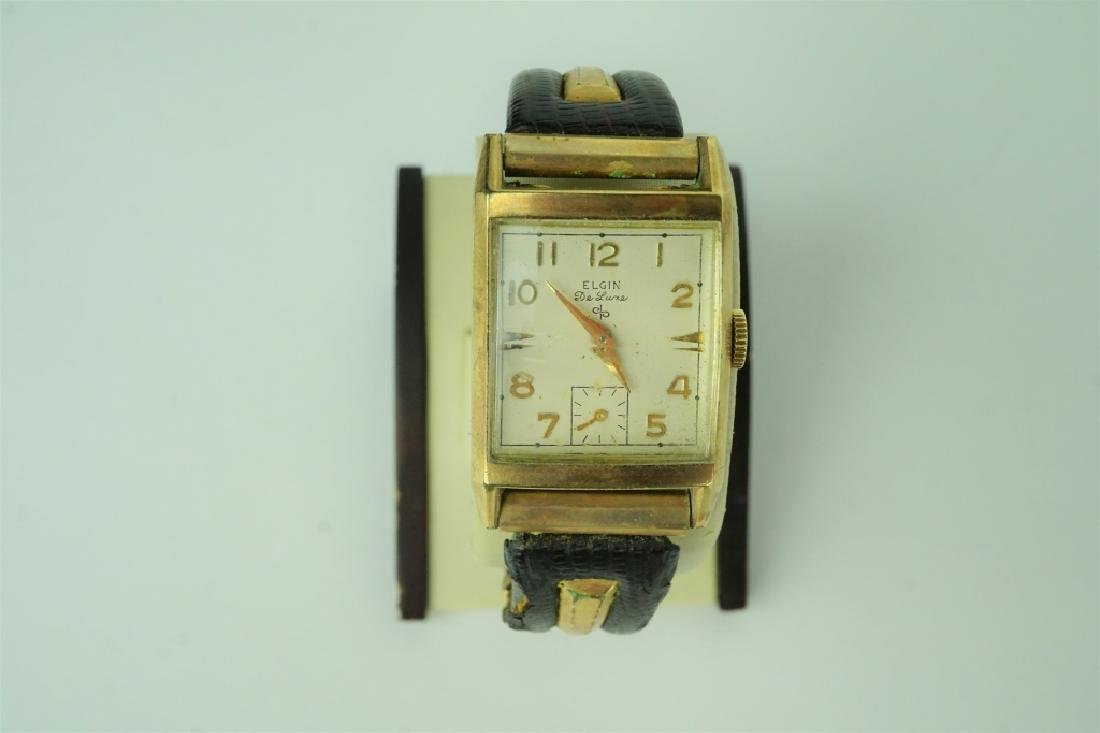 VINTAGE ELGIN DELUXE MEN'S WRISTWATCH