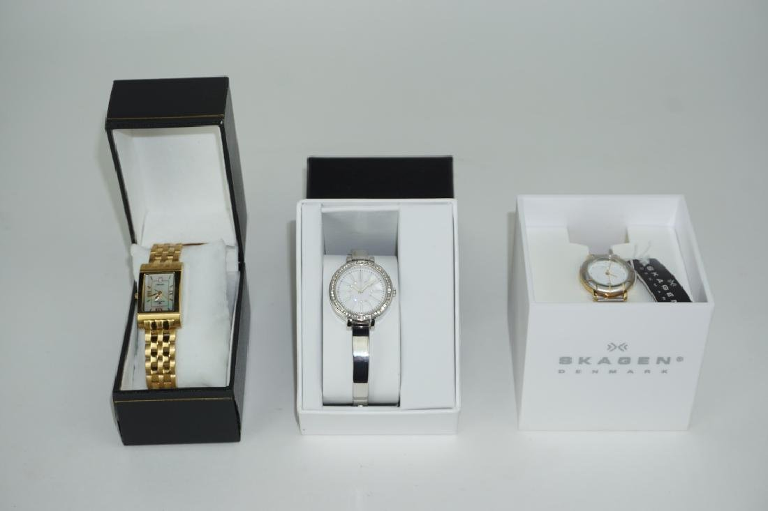 (3) ASSORTED WRIST WATCHES