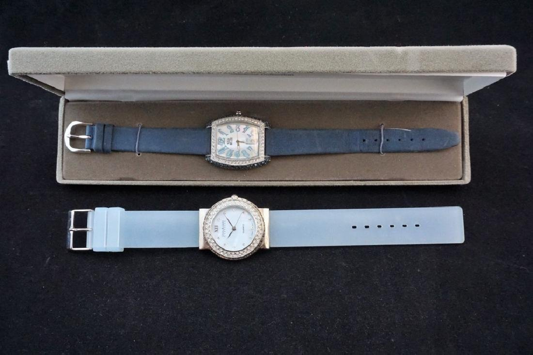 (2) WOMEN'S DESIGNER WATCHES