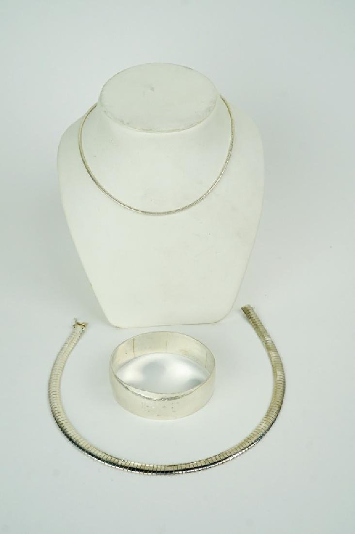 3pcs ASSORTED STERLING SILVER JEWELRY