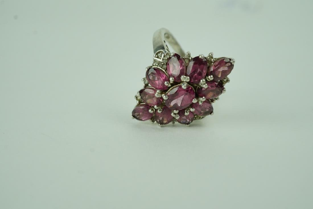 (8) ASSORTED STERLING SILVER RINGS - 4