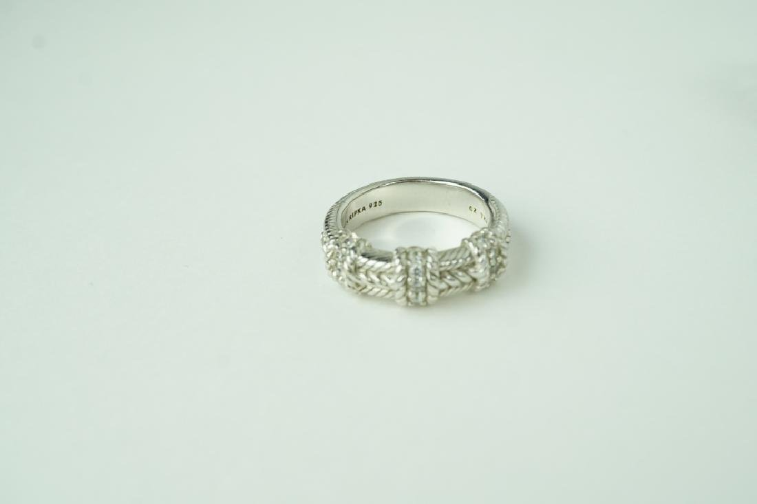 (8) ASSORTED STERLING SILVER RINGS - 5