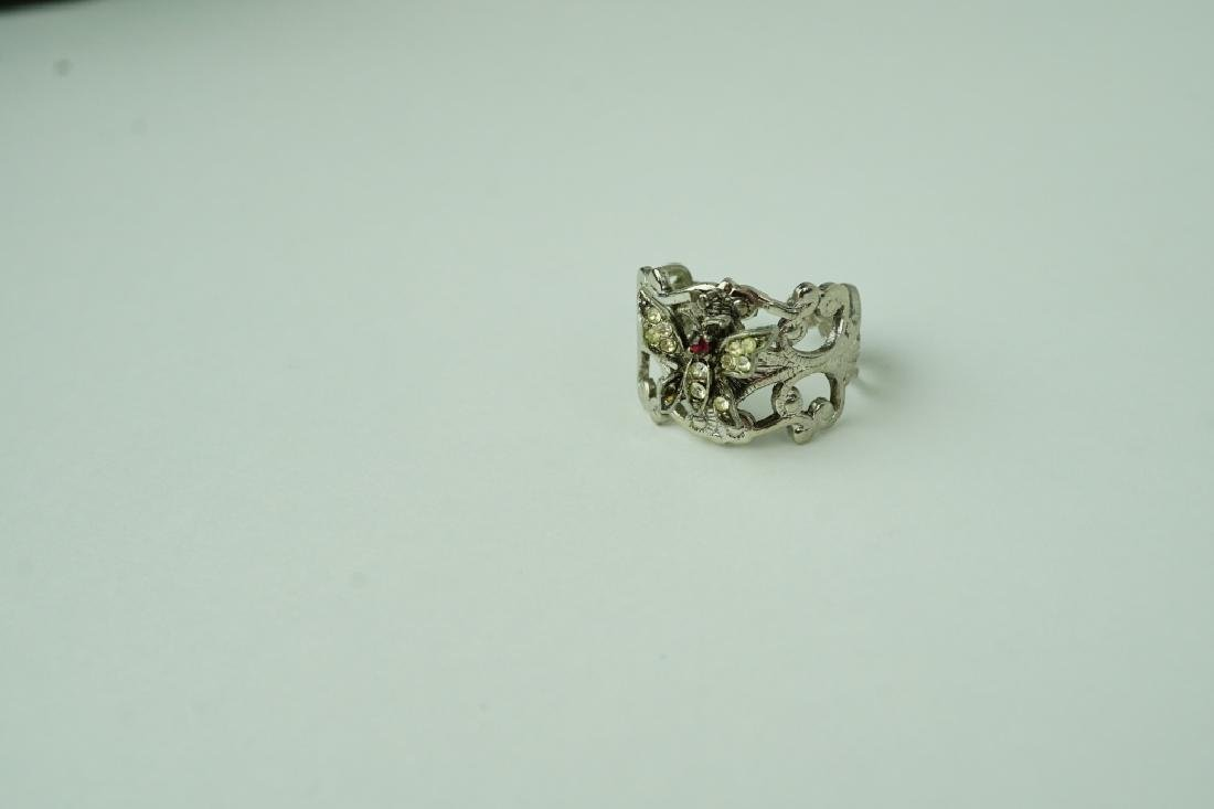(8) ASSORTED STERLING SILVER RINGS - 7