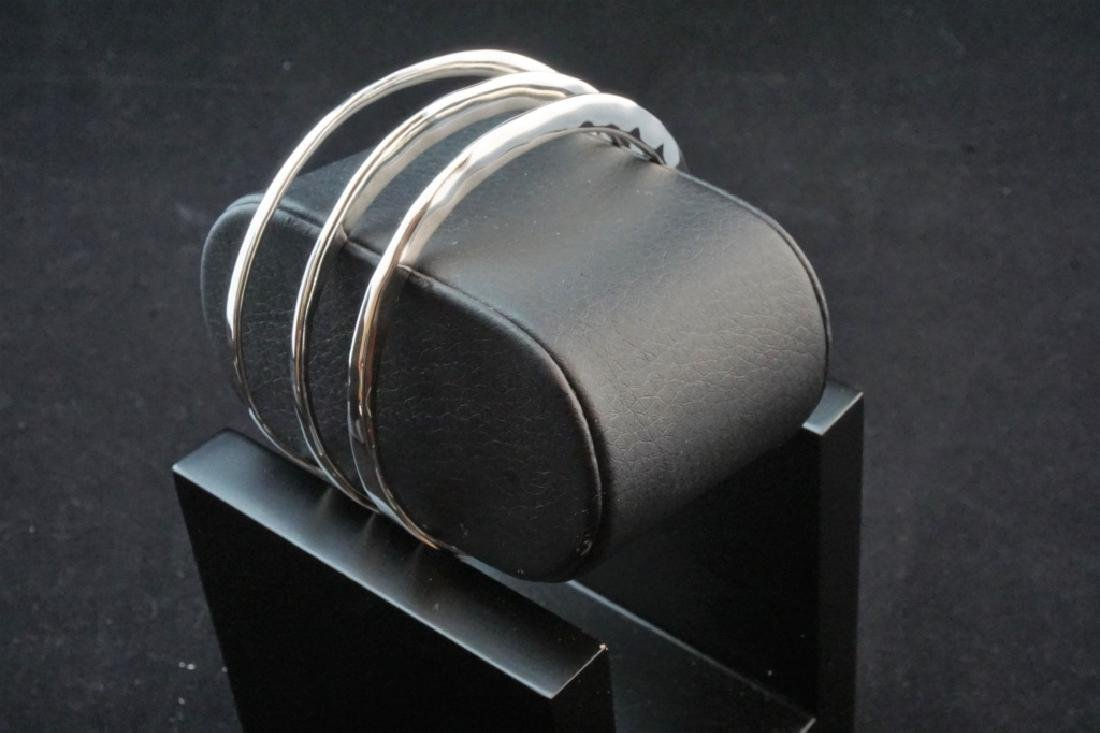 (3) STERLING ROBERT LEE MORRIS BANGLE BRACELETES